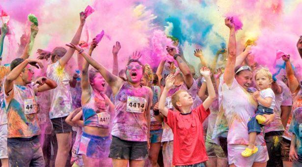 Festejan hoy el Día del Padre con carrera de colores