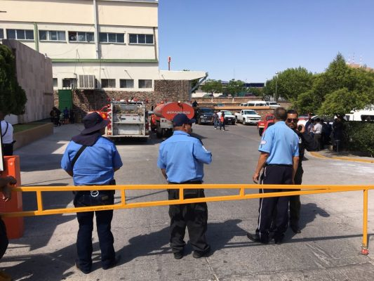 Incendio en área de mantenimiento del IMSS