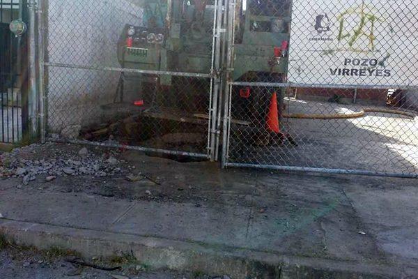 Otro fin de semana sin agua en El Campanario; pozo está abandonado