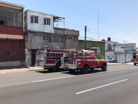 Se incendia cuarto de vivienda en la colonia Santa Rosa