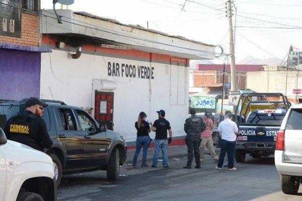Catean Ejército y PGR bar en la zona Centro