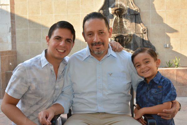 Volvió a nacer Luis Rivera tras sufrir derrame cerebral