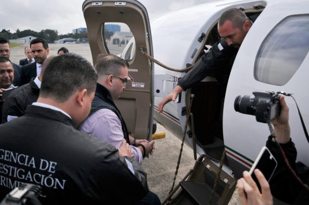 Ya viene Javier Duarte a enfrentarse con la justicia mexicana