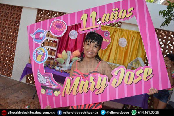 Mary José Duque festejó su aniversario 11