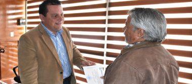 Entregan a ciudadanos paquetes de construcción en Cuauhtémoc