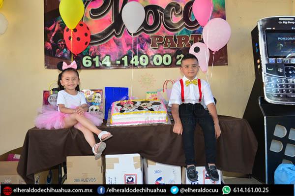 Festejaron a Gael y Daena Lozano