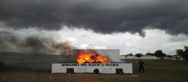 Destruye PGR más de una tonelada de narcóticos en Cuauhtémoc