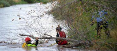 Siguen buscando más cuerpos de migrantes en el Río Bravo