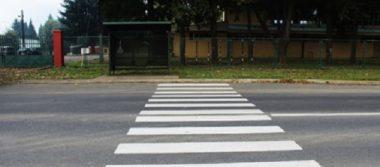 Repintarán en agosto pasos peatonales escolares y carriles