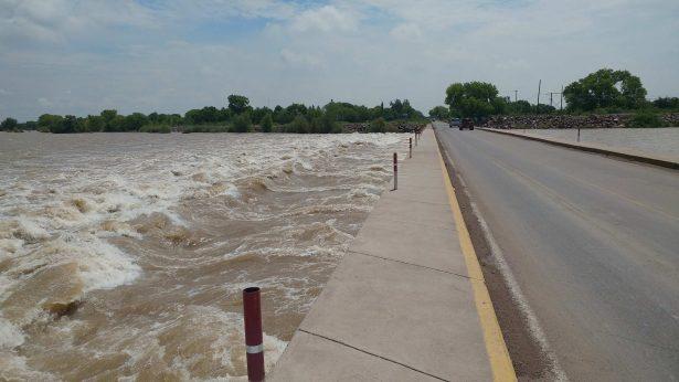 Cierran puente vado de Rosales