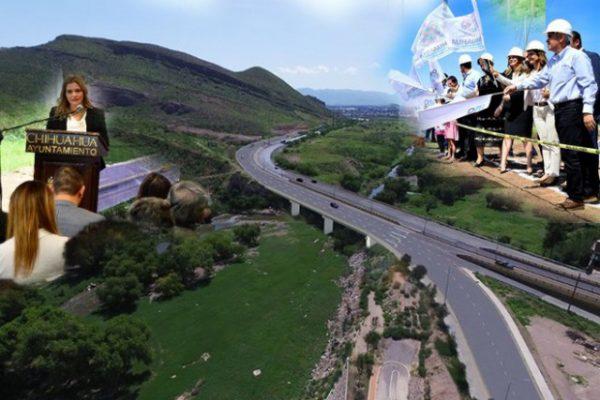 Inician carril adicional en la entrada Chihuahua-Aldama