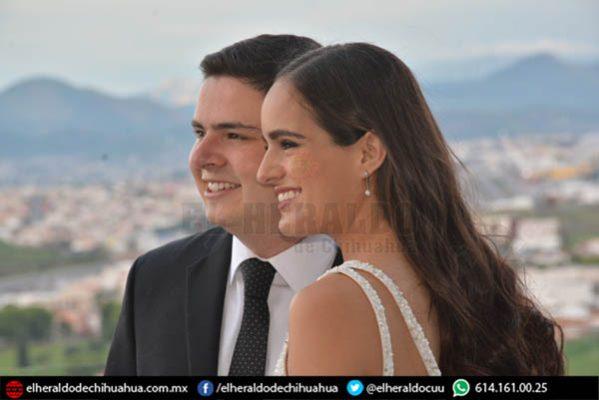 Ana Paula Enríquez y Fernando Uslé celebraron enlace civil