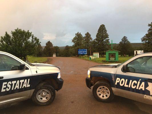 Más de 30 camionetas ingresaron al poblado con hombres de El Jaguar