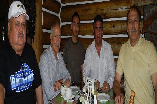Cuauhtémoc presente en el World Champions Ship Senior de Raquetbol