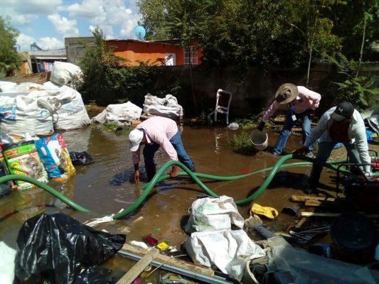 Atiende seguridad pública reportes de daños por lluvias