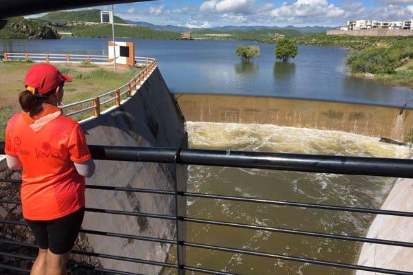 [EN VIVO] Empieza a verter la presa El Rejón por torrenciales lluvias de anoche
