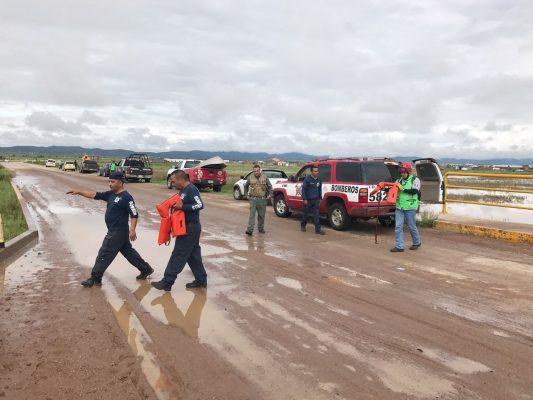 Nueve heridos y un bebé desaparecido en caída de vehículo a Presa del Burro