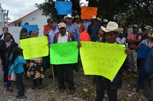 Exigen en Guadalupe y Calvo a Telmex una indemnización por $180 millones