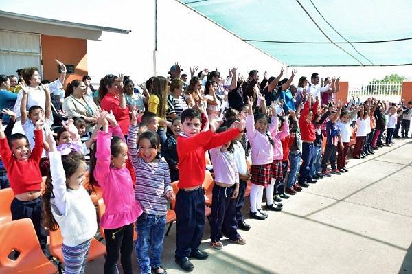 Cuauhtémoc, punta de lanza en apoyos a la educación