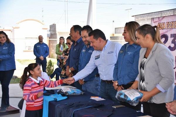 Dan identidad y pertenencia los uniformes escolares en Cuauhtémoc