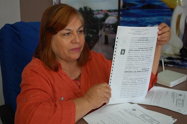 Denuncia Elsa García ser víctima de golpeteo político