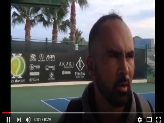 Miguel Gallardo a semifinales en la X Copa Akari de Tenis