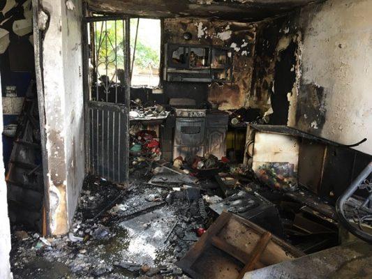 Familia lo pierde todo en incendio; solicitan apoyo de la comunidad