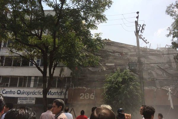 [GALERÍA] Terremoto de 7.1 azota México; epicentro cerca de Chiautla de Tapia