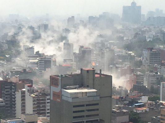 [GALERÍA] Fuerte sismo en México deja al menos 47 muertos; reportan derrumbes y severos daños