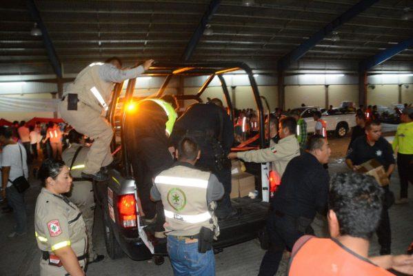 Llega primera ayuda chihuahuense a Morelos tras sismo