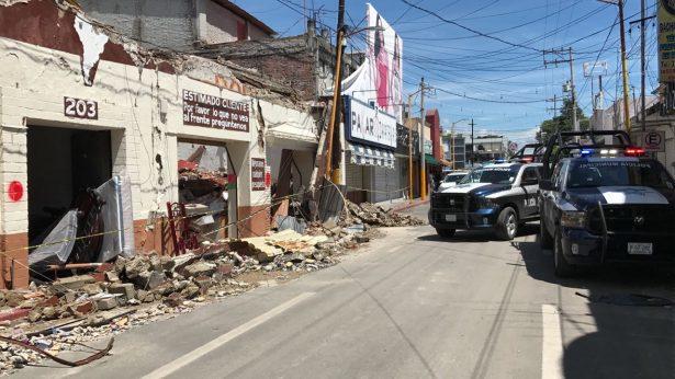 Elementos de Chihuahua recorren daños en Morelos y México