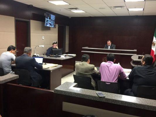 Inicia audiencia de formulación de imputación de cargos contra cómplice de Esparza