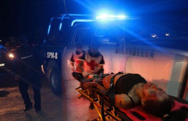 Balean a pareja; uno muere y mujer queda herida de bala