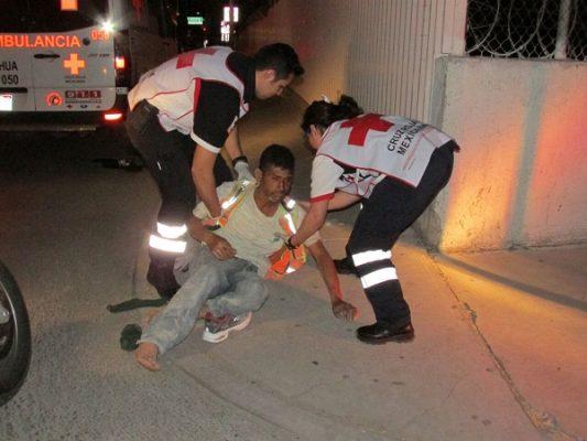Conductor golpea con su automóvil a franelero ebrio en la Pacheco