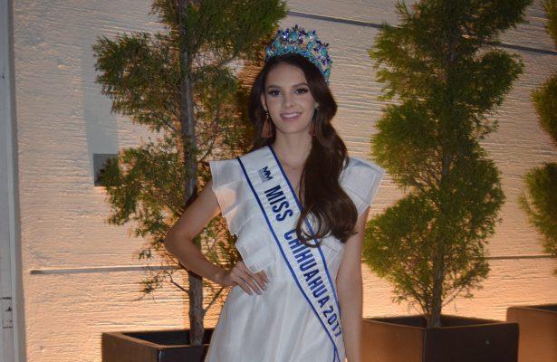 Andrea Sáenz por la corona de Miss México