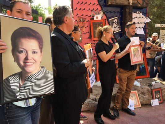 Piden al gobernador resultados en el asesinato de Miroslava; se cumplieron 6 meses