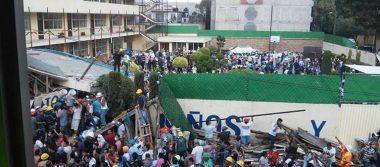 Tragedia en colegio Enrique Rebsamen tras terremoto: mueren 20 niños