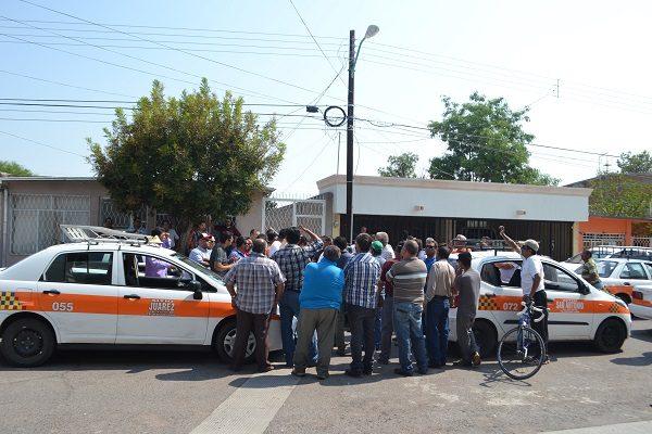 Exigen justicia por homicidio de taxista en el municipio de Delicias