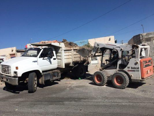 Retiran más de 518 toneladas de basura y tierra de Riberas de Sacramento
