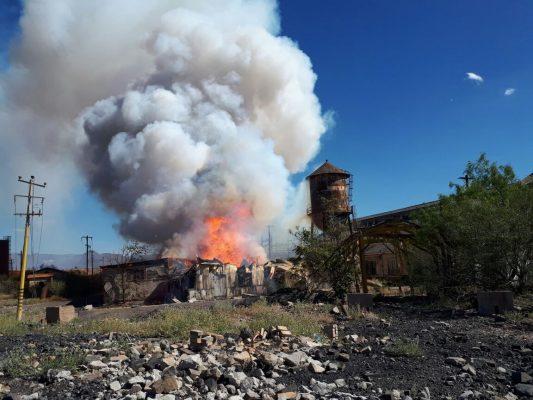 Se incendia parte de la Planta de Ávalos; genera amplia movilización