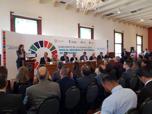 Instalan subcomité de la agenda 2030 para el desarrollo sostenible