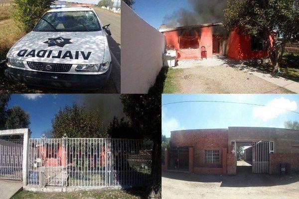 Queman 2 trocas y casas en Ignacio Zaragoza