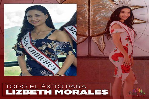 Participa Lizbeth Morales en Señorita México