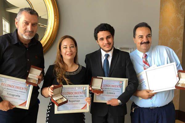 Reporteros de la OEM ganan Premio Estatal de Periodismo