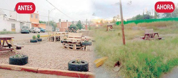 El antes y el después de los parques en Chihuahua