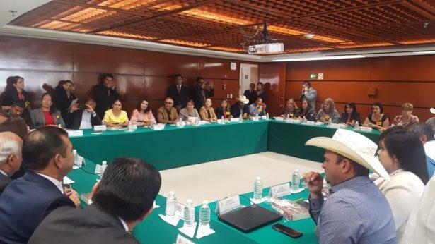 Presentan alcaldes priistas 119 proyectos antes la Cámara de Diputados