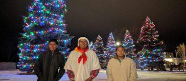 Triunfan en el Ártico corredores tarahumaras; arrasan maratón Oso Polar