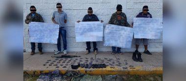 Arrestan a presuntos delincuentes involucrados en secuestros y extorsiones