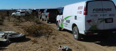 Ubican dos cuerpos sin vida en el rancho El Encinal
