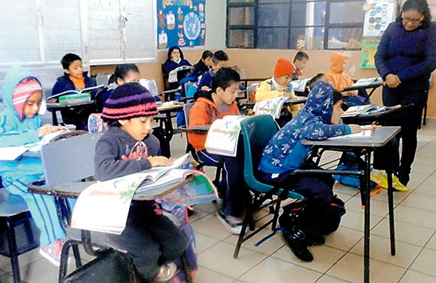 A clases, el 95% de alumnos de Tampico